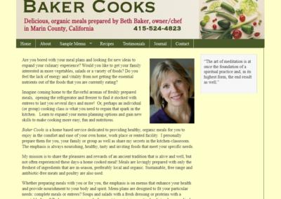Baker Cooks